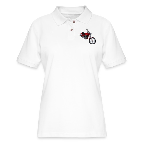 Motorcycle red - Women's Pique Polo Shirt
