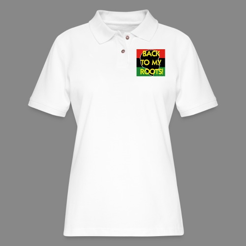 Back To My Roots - Women's Pique Polo Shirt