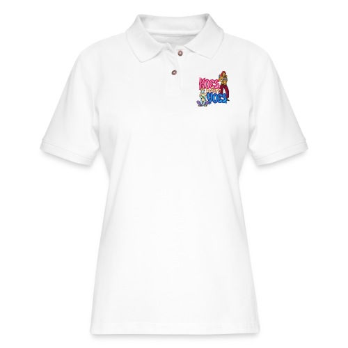 Hoes Before Voes - Women's Pique Polo Shirt