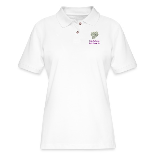 Baby Got Back Parody - Women's Pique Polo Shirt