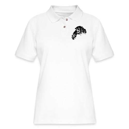 panther custom team graphic - Women's Pique Polo Shirt