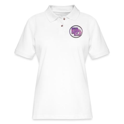 DerpDagg Logo - Women's Pique Polo Shirt