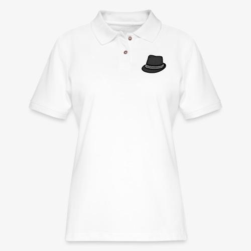 Bam FIlmz Logo - Women's Pique Polo Shirt
