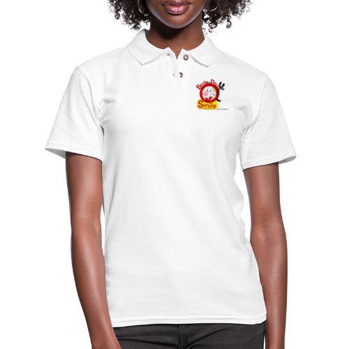 Smile Darn Ya Smile - Women's Pique Polo Shirt