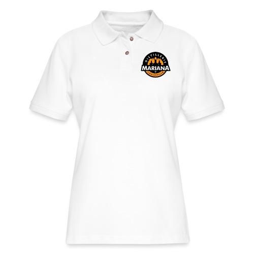 Distillerie Mariana Manche 3/4 - Women's Pique Polo Shirt