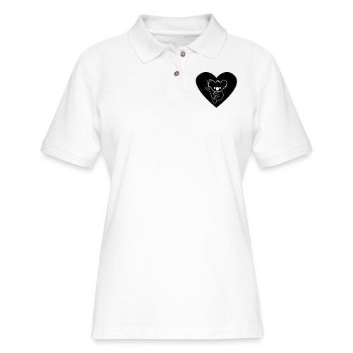 Koala Love - Women's Pique Polo Shirt