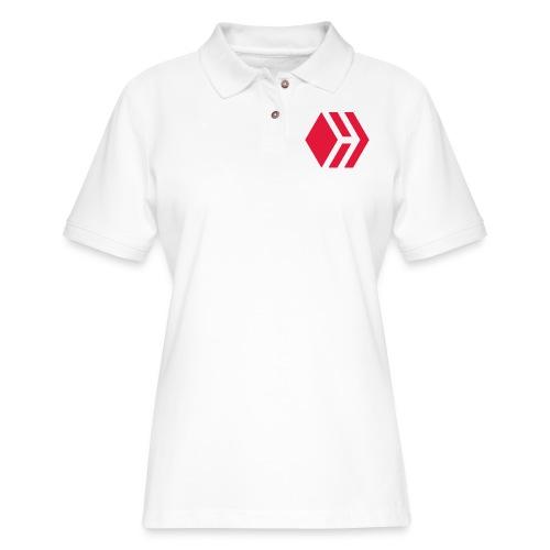 Hive logo - Women's Pique Polo Shirt