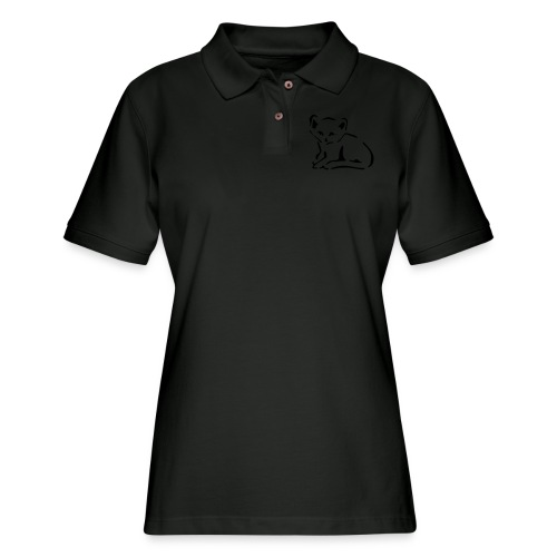 Kitty Cat - Women's Pique Polo Shirt