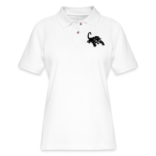 panthers sports team graphic - Women's Pique Polo Shirt