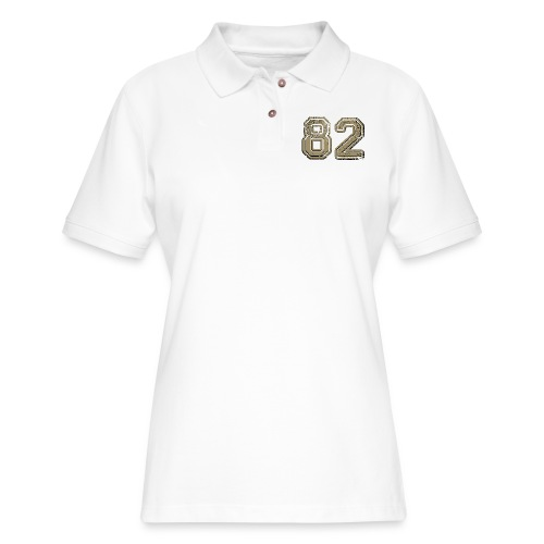 82 vintage - Women's Pique Polo Shirt