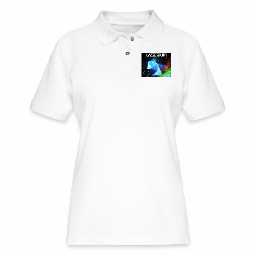 LASERIUM Laser spiral - Women's Pique Polo Shirt