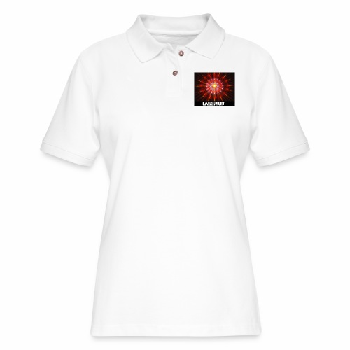 LASERIUM Laser starburst - Women's Pique Polo Shirt