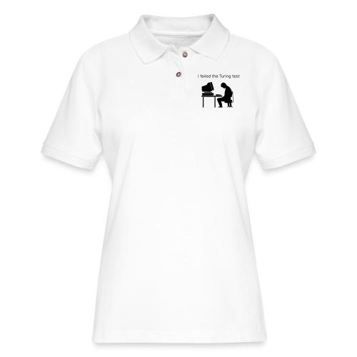 Turing test - Women's Pique Polo Shirt