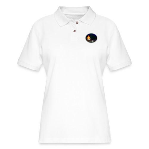 'Round the Campfire - Women's Pique Polo Shirt