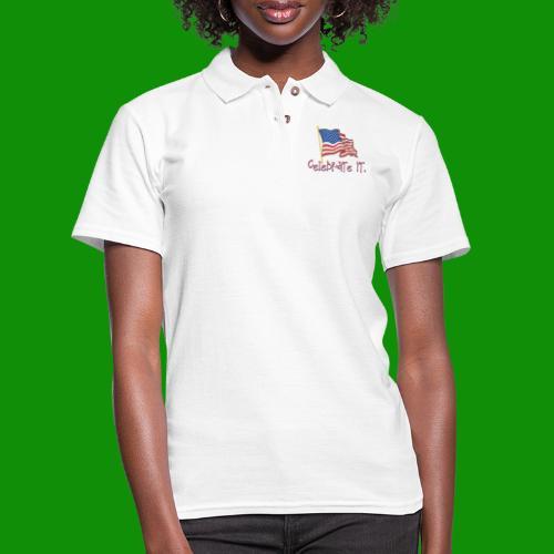 USA Celebrate It - Women's Pique Polo Shirt