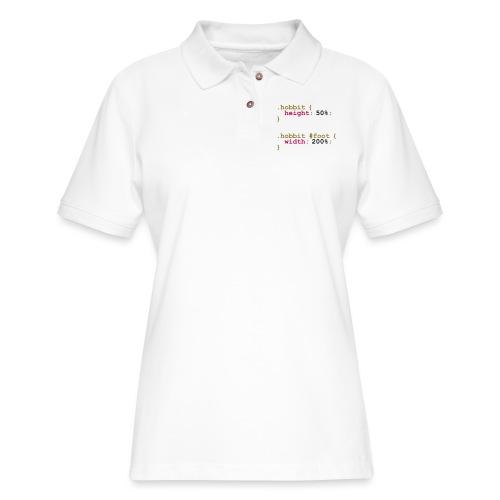 The Hobbit Code - Women's Pique Polo Shirt