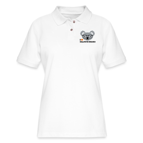 Koalatative Research - Women's Pique Polo Shirt