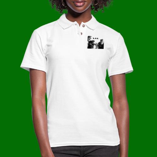 D N BW - Women's Pique Polo Shirt