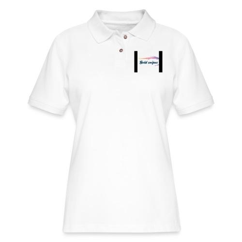 Kids Gold snipes Tshirt - Women's Pique Polo Shirt