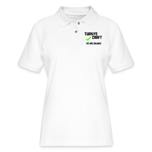 we are online boissss - Women's Pique Polo Shirt