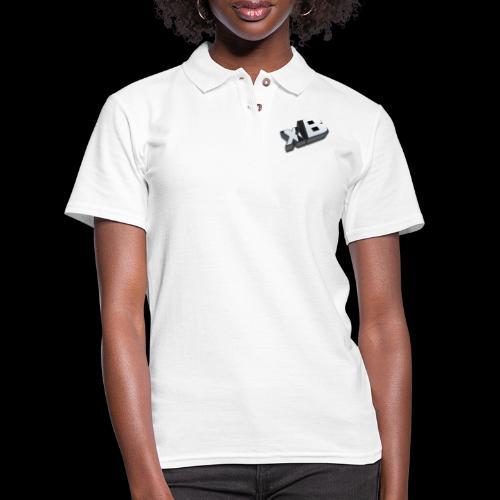 xB Logo - Women's Pique Polo Shirt