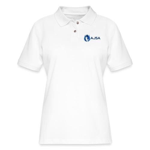 AJSA Bleu - Women's Pique Polo Shirt