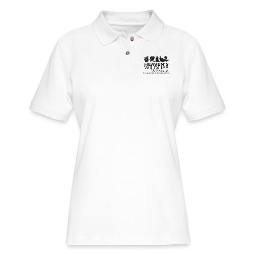Heaven's Wildlife Rescue - Women's Pique Polo Shirt
