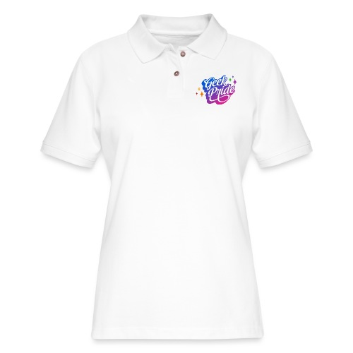 Geek Pride T-Shirt - Women's Pique Polo Shirt