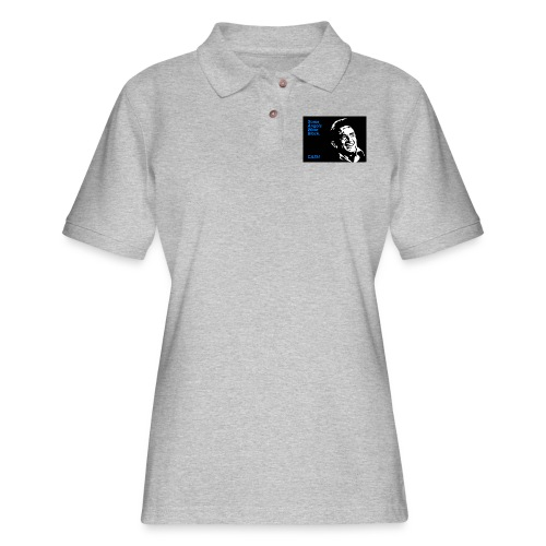 CASH - Women's Pique Polo Shirt