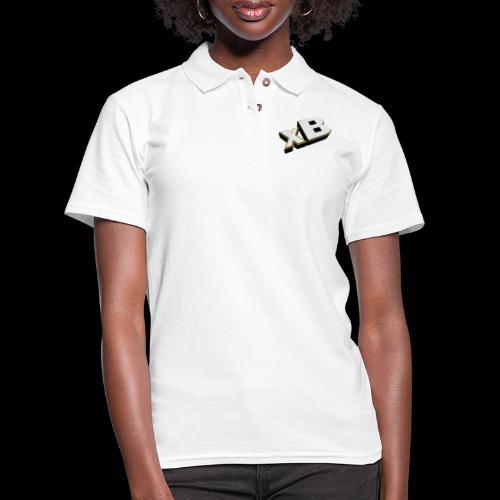 xB Logo (Gold) - Women's Pique Polo Shirt