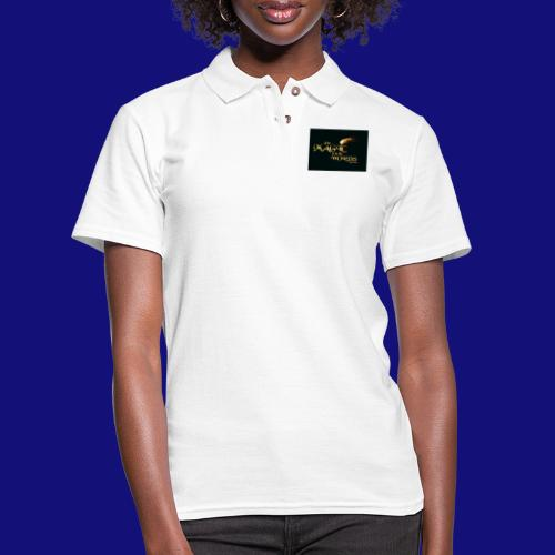The magic is in the words gold - Women's Pique Polo Shirt