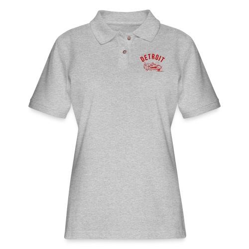 Detroit Art Project - Women's Pique Polo Shirt