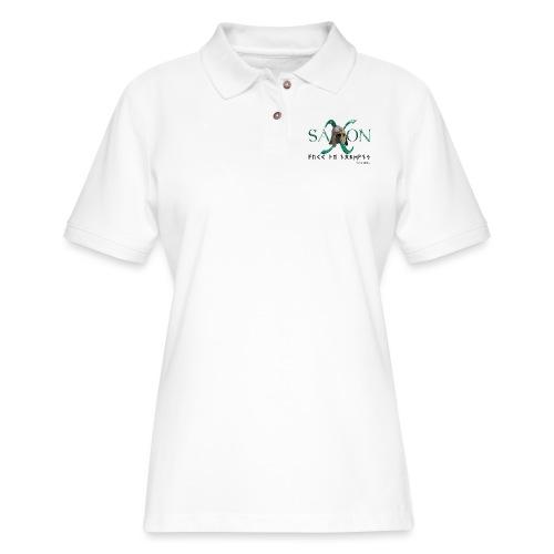 Saxon Pride - Women's Pique Polo Shirt