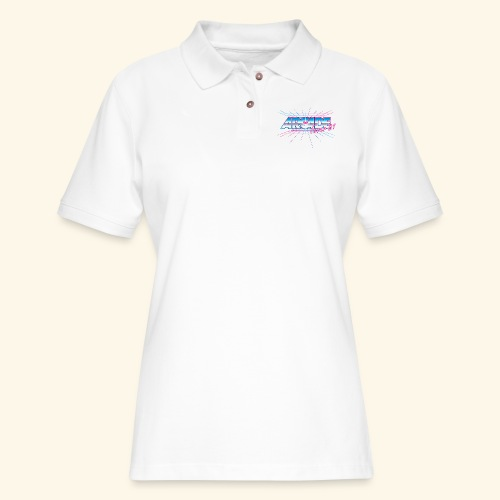 Arcade Fever 81 - Women's Pique Polo Shirt