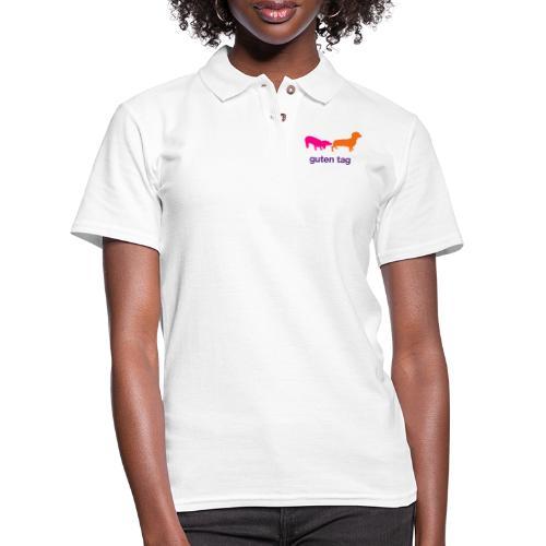 Guten Tag - Women's Pique Polo Shirt