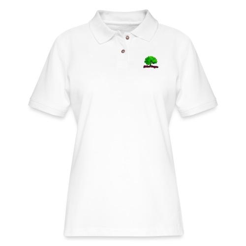 Moringa Logo Samsung S6 Case - Women's Pique Polo Shirt