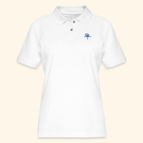 Back LOGO LOB - Women's Pique Polo Shirt