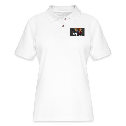 Sweatshirt - Women's Pique Polo Shirt