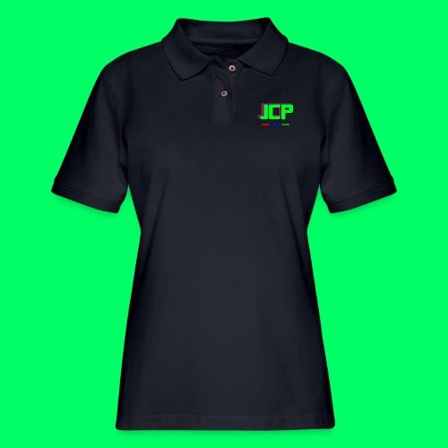 James Christian Plays! Original Set - Women's Pique Polo Shirt