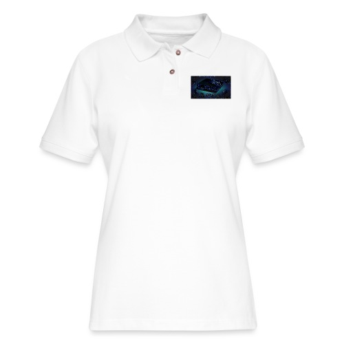 ps4 back grownd - Women's Pique Polo Shirt