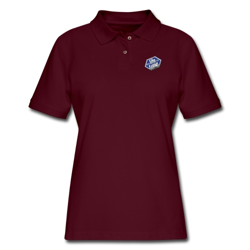 My Life In Gaming sticker - Women's Pique Polo Shirt