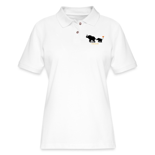 I Love You Tons! - Women's Pique Polo Shirt