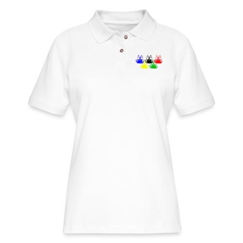 Apocalyptic Games - Women's Pique Polo Shirt