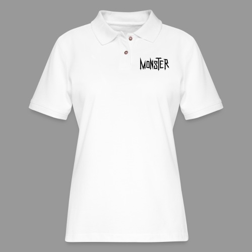 Monster - Women's Pique Polo Shirt
