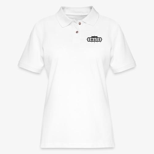 Fitch SMASH LLC. Official Trade Mark 2 - Women's Pique Polo Shirt