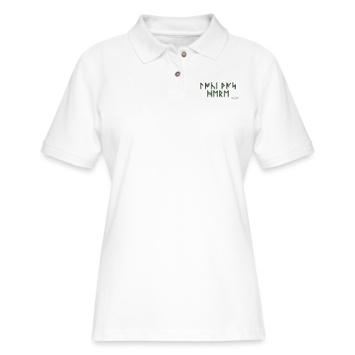 LDW LokiRune - Women's Pique Polo Shirt