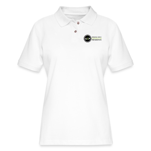 iLCP logo horizontal RGB png - Women's Pique Polo Shirt