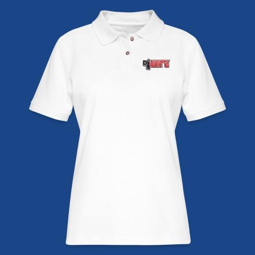 Ron G logo - Women's Pique Polo Shirt