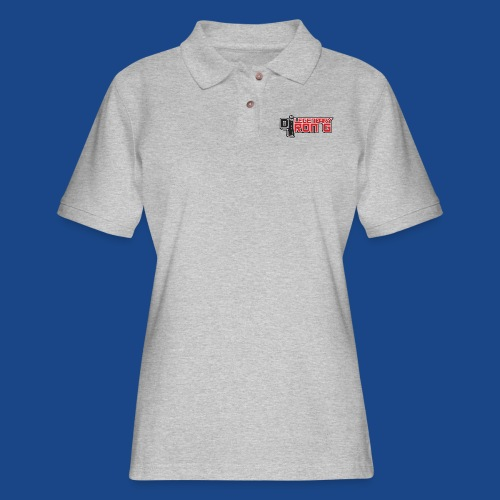 Ron G logo - Women's Pique Polo Shirt