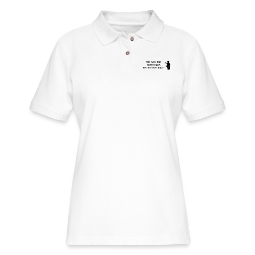 Fight the Monsters - Women's Pique Polo Shirt